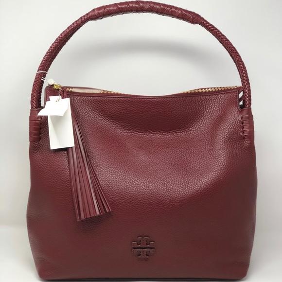 5963c19da071 NWT Tory Burch braided Taylor large hobo handbag